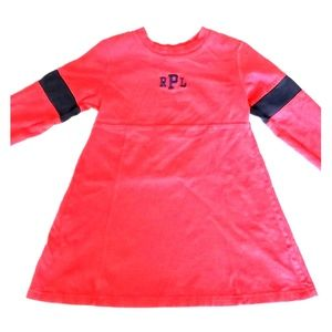 Ralph Lauren Red Dress 4T